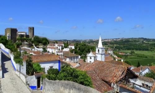 PORTUGALIA / Centrum, dystrykt Leiria / Obidos / Miasto portugalskich królowych