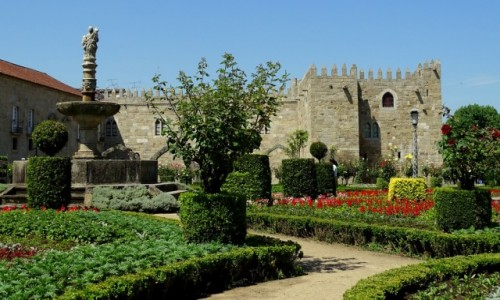 Zdjecie PORTUGALIA / Norte / Braga / Pałac arcybiskupi