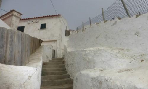 Zdjecie PORTUGALIA / Sinta / Azenhas da Mar / Schody