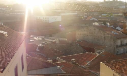 Zdjecie PORTUGALIA / Porto / Porto / Dachy Porto 01