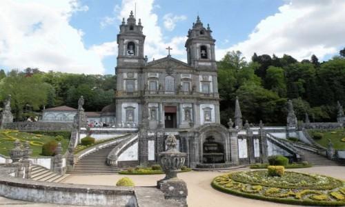 Zdjecie PORTUGALIA / Portugalia / Braga / Kościół