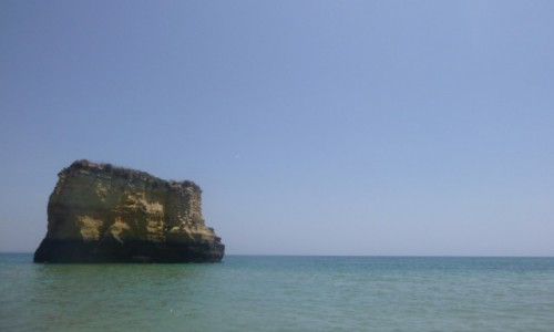 PORTUGALIA / Algarve / Lagos / Plaża w Lagos