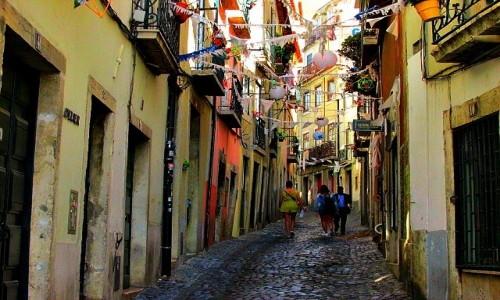 Zdjecie PORTUGALIA / - / Lizbona / Alfama