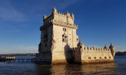 Zdjecie PORTUGALIA / dystrykt Lizbona / Lizbona, Torre de  Belém / Manuelińska perełka