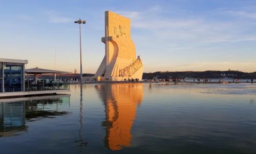 Zdjecie PORTUGALIA / dystrykt Lizbona / Lizbona, Dzielnica Betlejemska, Pomnik Odkrywców / Oni odkrywali świat