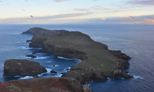 Zdjecie PORTUGALIA / Madera / wschodnie wybrzeże, Ponta de Sao Lorenco / Przedwieczorny widok