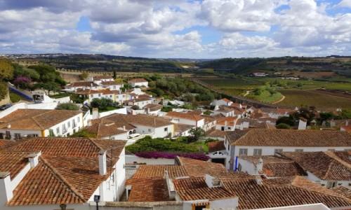 Zdjecie PORTUGALIA / Centrum, dystrykt Leiria / Óbidos / Panorama Óbidos