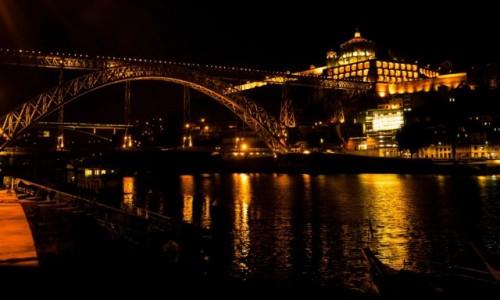 Zdjecie PORTUGALIA / - / Porto / Most Maria Pia