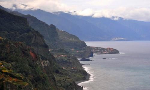 Zdjęcie PORTUGALIA / Madera / północno-wschodnie wybrzeże / Jadąc wybrzeżem