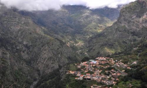 Zdjecie PORTUGALIA / Madera / centrum wyspy / Mieszkać w dolinie