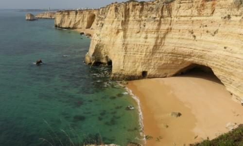 Zdjecie PORTUGALIA / Algarve / Klify / Cicha plaża
