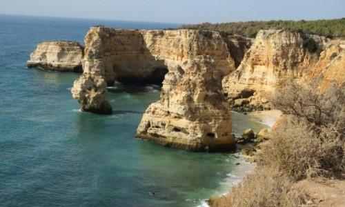 Zdjecie PORTUGALIA / Algarve / klify / spacer klifami