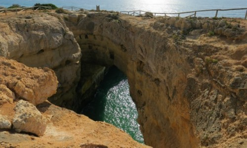 Zdjecie PORTUGALIA / Algarve / klify / Na trasie