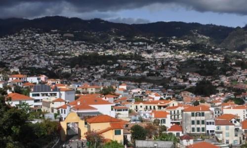 Zdjęcie PORTUGALIA / Madera / Funchal - stolica Madery / Widok na Funchal