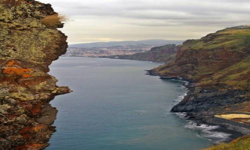 Zdjęcie PORTUGALIA / Canico / Canico de Baixo / W stronę Funchal