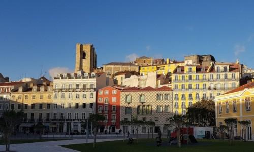 Zdjęcie PORTUGALIA / Lizbona / Alfama / Alfama u schyłku dnia