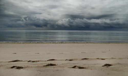 Zdjecie PORTUGALIA / Algarve / Pedras del Rei / wędrówki plażą2