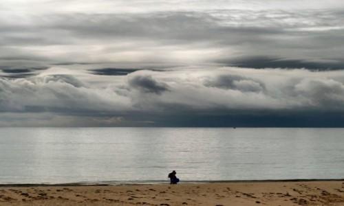 Zdjecie PORTUGALIA / Algarve / Pedras del Rei / wędrówki plażą3