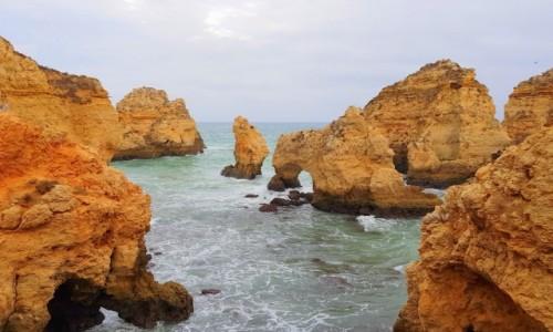 Zdjęcie PORTUGALIA / Algarve / Lagos / Ponta da Piedade