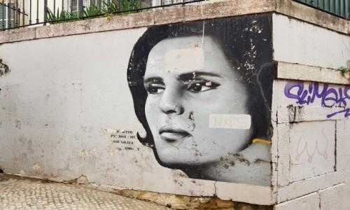 Zdjecie PORTUGALIA / Lizbona / Travessa de Santo Antão / Królowa fado