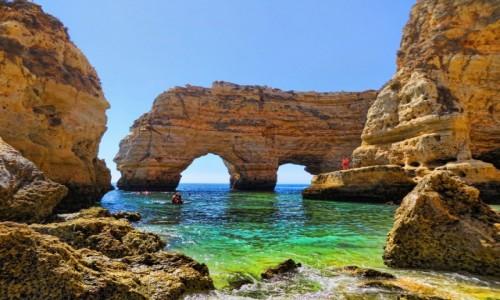 Zdjecie PORTUGALIA / Algarve / Praia da Marinha / Magiczne Algarve
