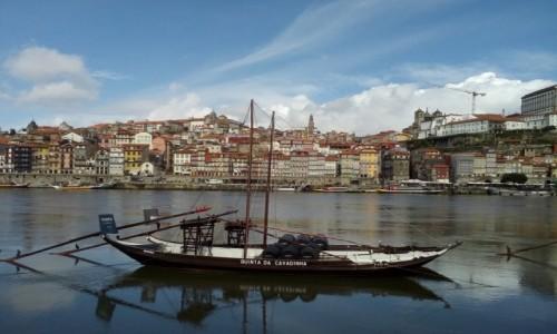 PORTUGALIA / Porto / nad rzeką Duoro / Porto