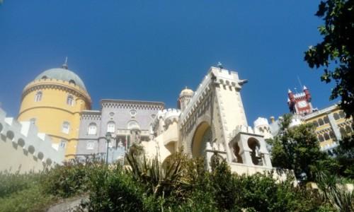 Zdjecie PORTUGALIA / Lisbona / Sintra /  Pałac Pena
