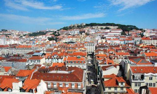 Zdjecie PORTUGALIA / brak / Lizbona / Panorama stolicy