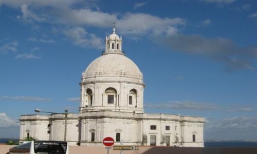 Zdjecie PORTUGALIA / Lizbona / Lizbona / Panteon Narodowy- kosciol sw. Engracji