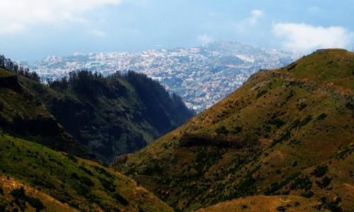 Zdjecie PORTUGALIA / Madera / Madara Centralna / widok na Funchal