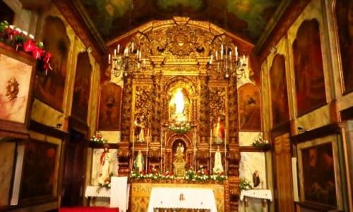 Zdjęcie PORTUGALIA / Madera / Camara de Lobos / rybacka wioska kościół