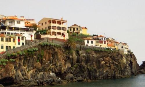 Zdjęcie PORTUGALIA / Madera / Camara de Lobos / rybacka wioska