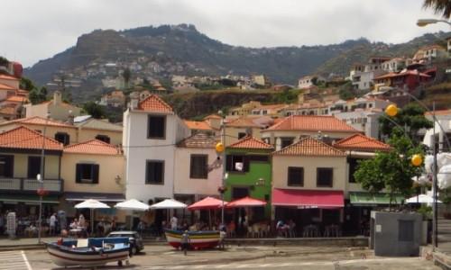 Zdjecie PORTUGALIA / Madera / Camara de Lobos / rybacka wioska