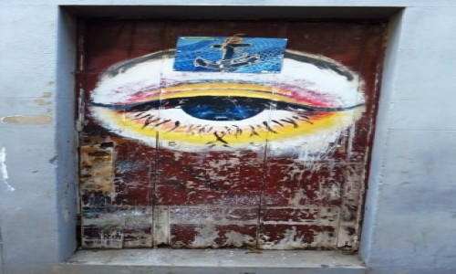 Zdjecie PORTUGALIA / Madera / Machico / stare drzwi