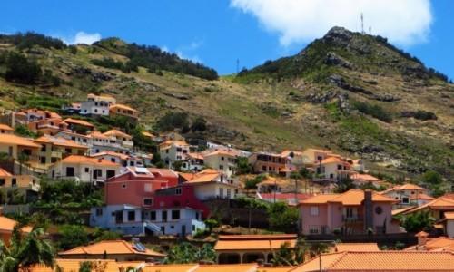 Zdjecie PORTUGALIA / Madera / Machico / widok na Pico do Facho