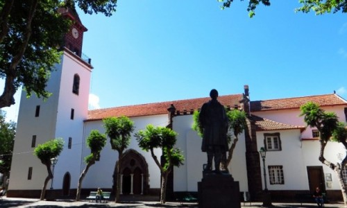 Zdjecie PORTUGALIA / Madera / Machico / kościół parafialny