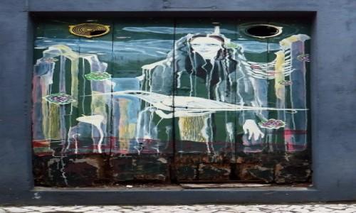 Zdjęcie PORTUGALIA / Madera / Machico / stare drzwi