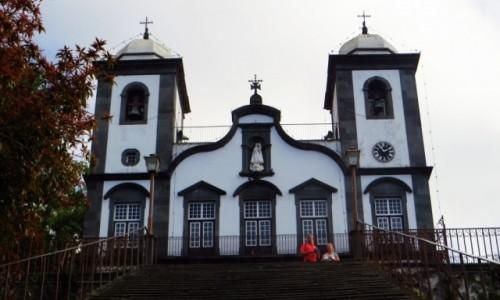 Zdjęcie PORTUGALIA / Madera / Monte / kościół Madonny z Monte