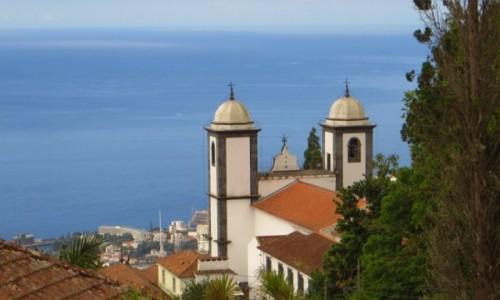Zdjecie PORTUGALIA / Madera / Funchal / kościół Madonny z Monte
