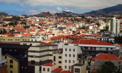 Zdjęcie PORTUGALIA / Madera / Funchal / panorama Funchal