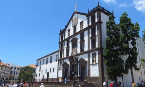 Zdjęcie PORTUGALIA / Madera / Funchal / kolegiata jezuicka
