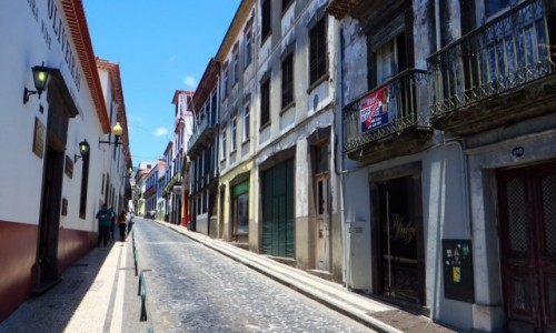 Zdjecie PORTUGALIA / Madera / Funchal / ulice Funchal