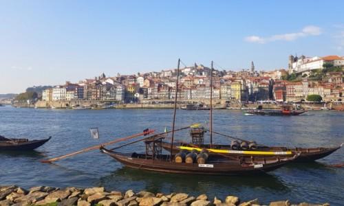 Zdjecie PORTUGALIA / Północ / Porto z Vila Nova de Gaia / Barcos Rabelos
