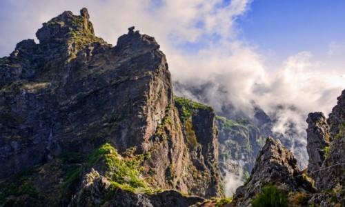 PORTUGALIA / Madera / - / Madera-górskie szlaki