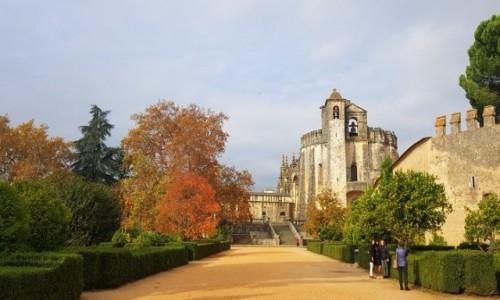 Zdjecie PORTUGALIA / Centrum / Tomar- Convento de Cristo / Jeszcze jesiennie