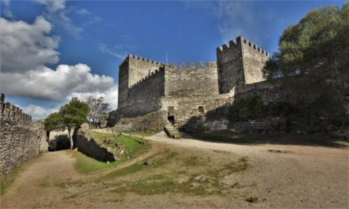 PORTUGALIA / Pinhal Litoral / Leiria / Leiria, zamek