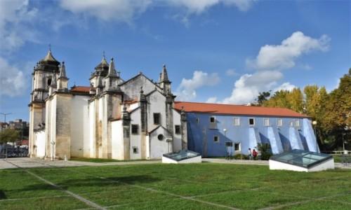 PORTUGALIA / Pinhal Litoral / Leiria / Leiria, kościół poaugustiański