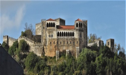 Zdjecie PORTUGALIA / Pinhal Litoral / Leiria / Leiria, zamek