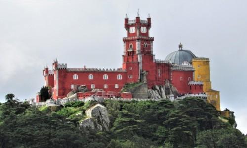 Zdjecie PORTUGALIA / - / Palacio da Pena, Sintra / eklektycznie...