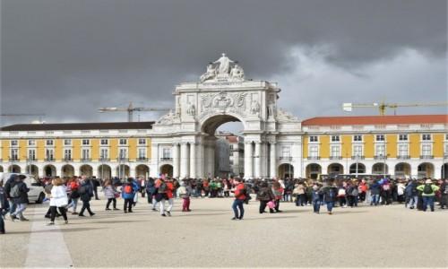 Zdjęcie PORTUGALIA / Stolica / Lizbona / Lizbona,Arco da Rua Augusta